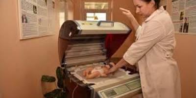 Круговой аппарат фототерапии TOSAN для новорожденных появился в детской областной больнице № 2 города Волгограда.